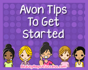Avon Tips-To-Get-Started