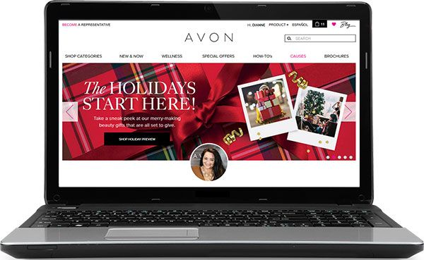 Avon-Holiday-Online-Store