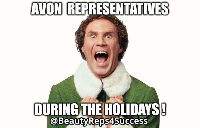 Avon Reps During The Holidays
