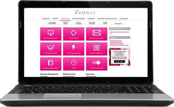 Avon-Web-Office-Laptop