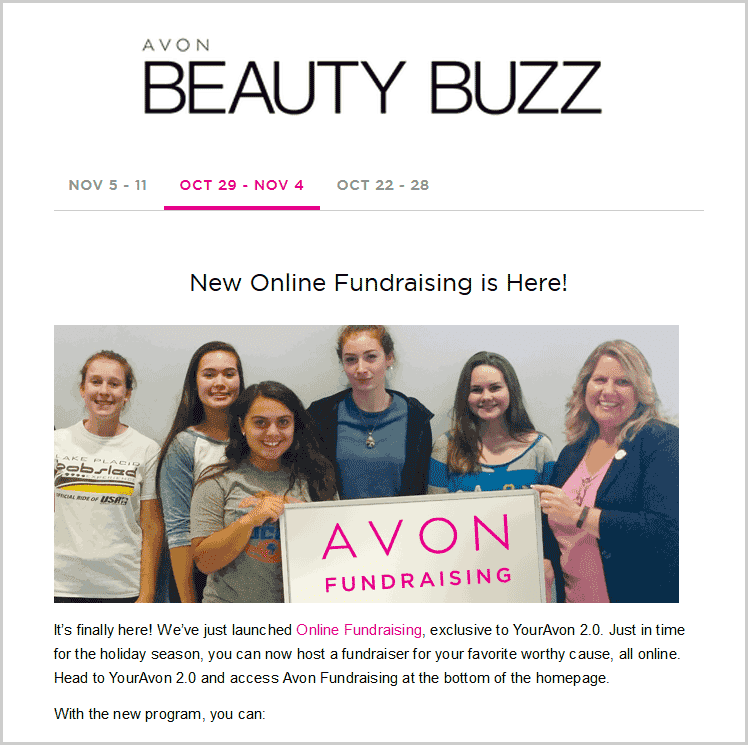 Avon Beauty Buzz