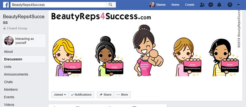Join our Team Facebook Group BeautyReps4Success