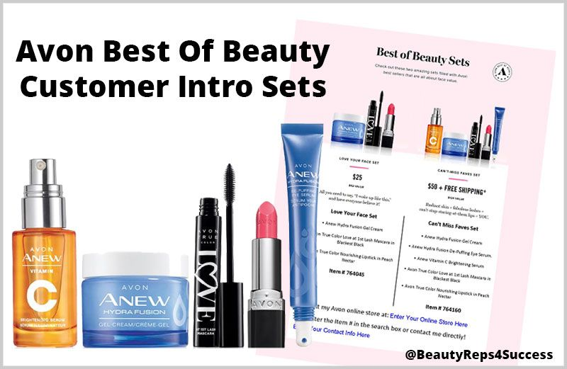 Avon Customer Intro Set