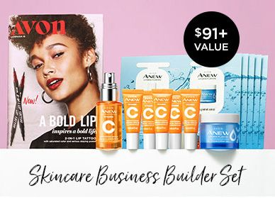 Skincare Business Builder Set New Avon Rep Gift