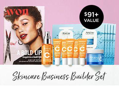 Skincare Business Builder Set New Avon Rep Gift