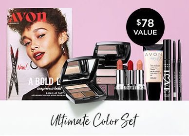 Ultimate Color Set New Avon Rep Gift