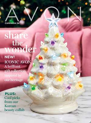 Avon Campaign 24 Holiday Catalog