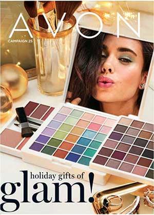 Avon Campaign 25 Holiday Catalog