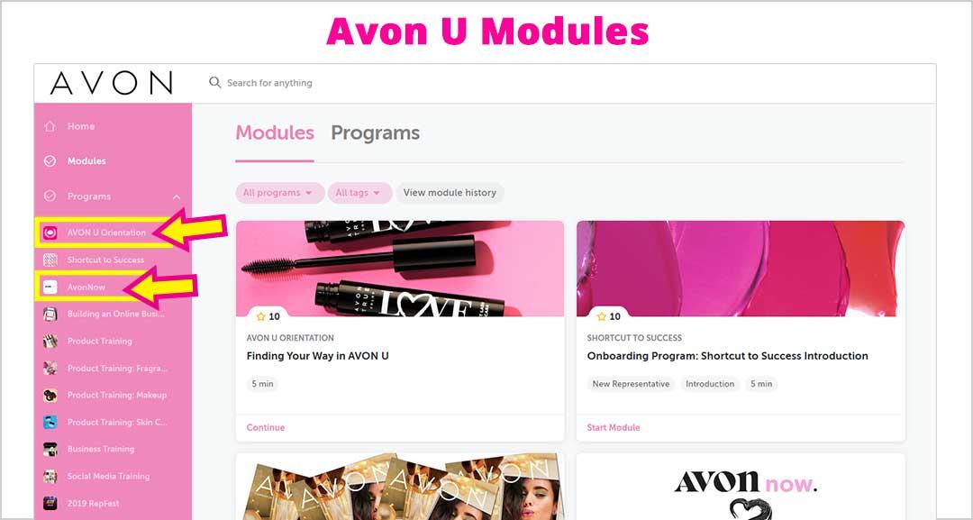 Avon U Modules