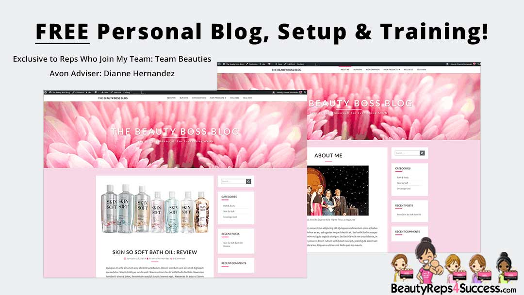 Free-Avon-Blog When You Join Avon