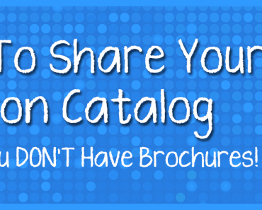 How to share your Avon Brochures When You Have No Catalogs